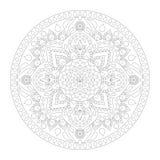 Lotus Mandala Στοκ φωτογραφίες με δικαίωμα ελεύθερης χρήσης