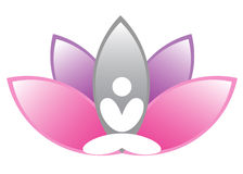 Lotus meditation Royalty Free Stock Photo