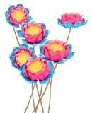 Lotus-origami royalty-vrije stock foto's
