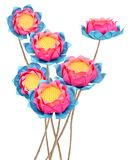 Lotus origami Royalty Free Stock Photos