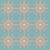 Lotus pattern Royalty Free Stock Photo