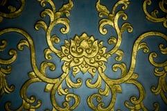 Lotus pattern Royalty Free Stock Image