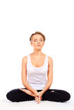 Lotus pose Royalty Free Stock Photos