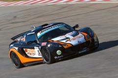 Lotus Production Car Racing royalty free stock photography