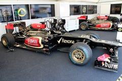 Lotus Renault F1 lag Fotografering för Bildbyråer