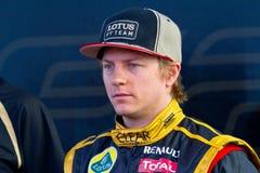 Lotus Renault F1, Kimi Raikkonen, 2012 d'équipe Photo libre de droits