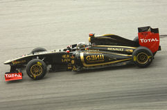 Lotus-Renault Formula One Team: Nick Heidfeld Stock Images