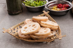 Lotus root Royalty Free Stock Photo