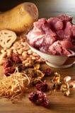 Lotus Root Soup Stock Photos
