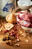 Lotus Root Soup Stock Photography