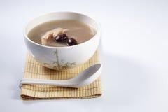 Lotus root soup Stock Photo