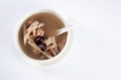 Lotus root soup Royalty Free Stock Image