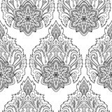 Lotus Seamless Pattern abstraite Photo libre de droits