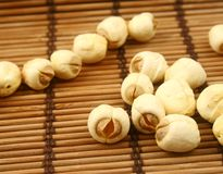 The lotus seeds Royalty Free Stock Images