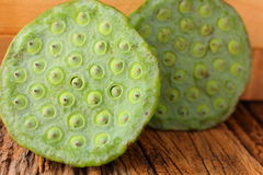 Lotus seeds Stock Image