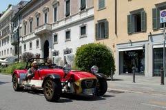 Lotus Seven bei Mille Miglia 2016 Stockbild