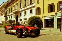 Lotus Seven bei Mille Miglia 2016 Stockbilder