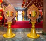 Lotus shaped pole Stock Photography