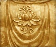 Lotus-shaped sheet Royalty Free Stock Photo