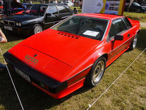 Lotus Sports Cars. Lotus Esprit Turbo - 1980. Sports cars, Motor Show - Legends Prague 2017, Czech Republic Royalty Free Stock Image