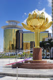 Lotus square at macau Royalty Free Stock Photography