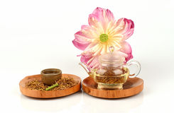 Lotus stamen tea. Stock Images