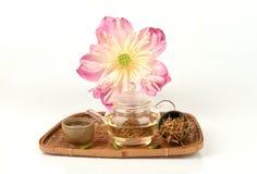Lotus stamen tea. Royalty Free Stock Photo