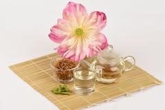 Lotus stamen tea. Royalty Free Stock Images