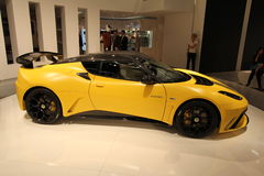 Lotus sur 64rd IAA Photographie stock
