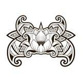 Lotus Tattoo illustration libre de droits