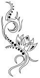 Lotus tattoo Royalty Free Stock Images
