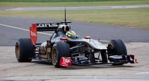 Lotus team car Royalty Free Stock Images