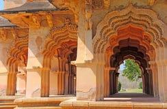 Lotus-tempelhampi Stock Afbeeldingen