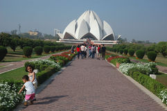 Lotus Temple-1 Royalty Free Stock Photography