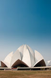 Lotus Temple. The Lotus Temple in Delhi, India Royalty Free Stock Photography