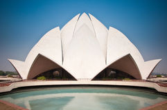 Lotus Temple. The Lotus Temple in Delhi, India stock photo