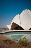 Lotus Temple. The Lotus Temple in Delhi, India Royalty Free Stock Images