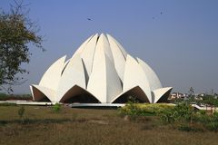 The Lotus Temple Stock Image