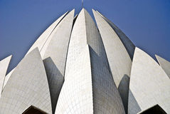 Lotus Temple. Is in new delhi, India royalty free stock image