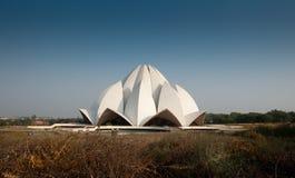Lotus temple Stock Image
