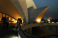 Lotus Temple-2 Stock Photos