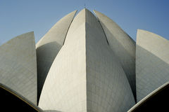 Lotus Temple. New Delhi, India royalty free stock images