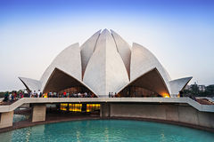 Lotus Temple stockbild