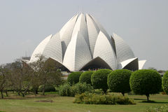 Lotus Temple Royalty Free Stock Photos