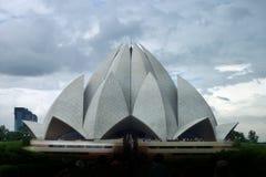 Lotus Temple Lizenzfreie Stockfotos