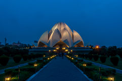 Lotus Temple Fotografia de Stock