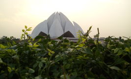 Lotus Temple Imagem de Stock Royalty Free