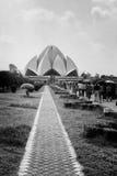 Lotus Temple Stockbild