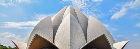 Lotus Temple Fotos de Stock Royalty Free