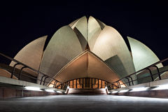 Lotus Temple Photos stock